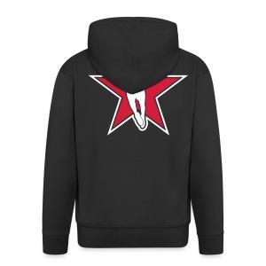 danskbasket.dk - Men's Premium Hooded Jacket