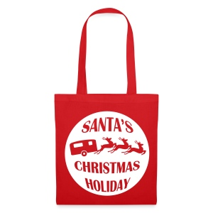 Bag - Santa's Christmas Holiday - Tote Bag