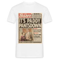 T-Shirts ~ Men's T-Shirt ~ It's Paddy Pantsdown