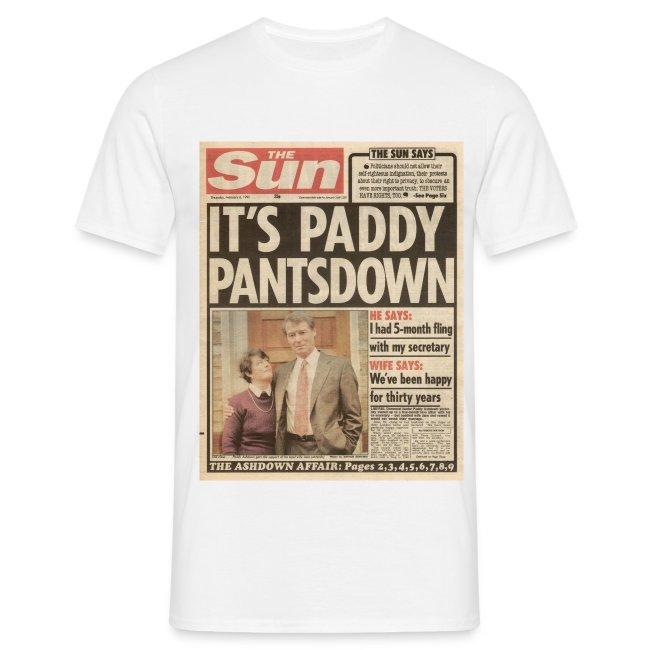 It's Paddy Pantsdown