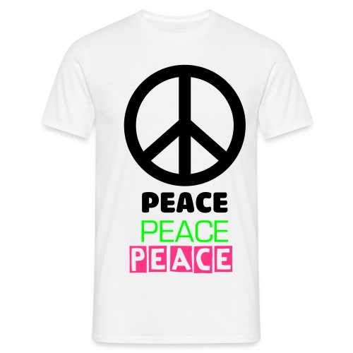 peace - T-shirt herr
