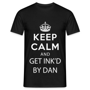 Keep Calm (Dan) - Men's T-Shirt