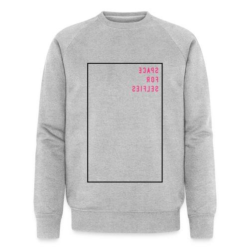 Space for selfies / mirrored (EN), Ms Sweatshirt - Männer Bio-Sweatshirt von Stanley & Stella
