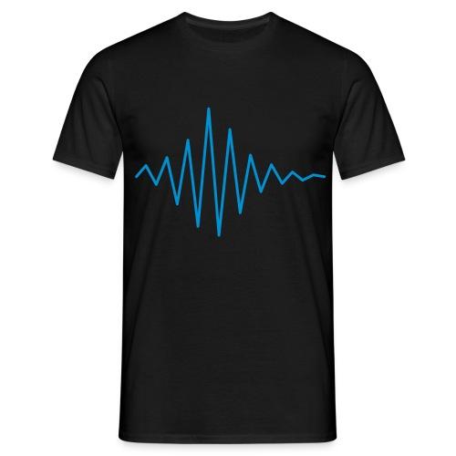 simpel puls - Herre-T-shirt