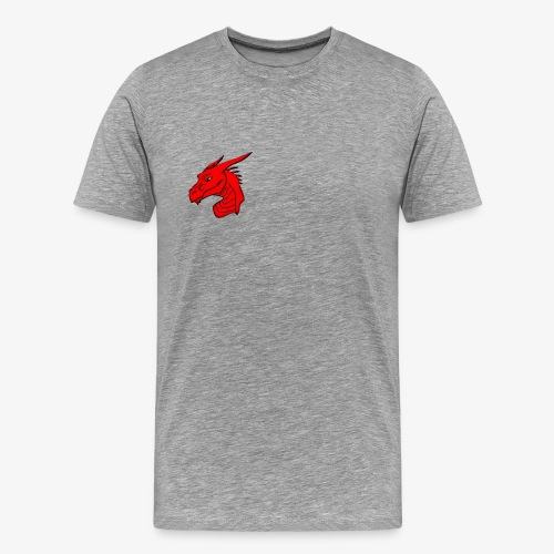 Male Dragon Short Sleeve T-Shirt - Men's Premium T-Shirt
