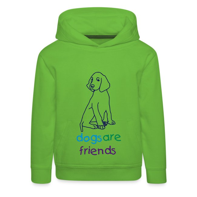 Kids and friends
