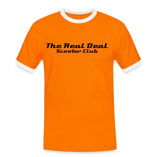 The Real Deal TeaSirt - Men's Ringer Shirt