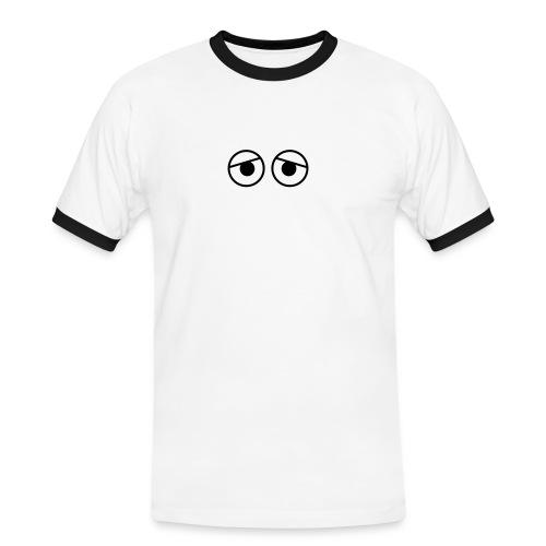 Kure Kure Eyes • Retro - Kontrast-T-shirt herr