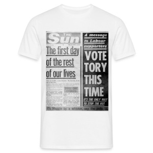 Vote Tory This Time - Men's T-Shirt