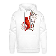 Sweatshirts ~ Herre Premium hættetrøje ~ Let out the bull, sweatshirt