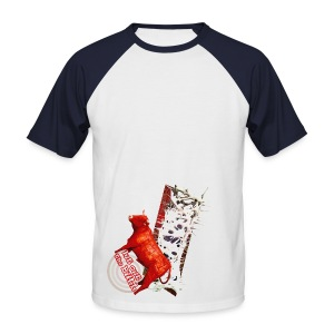 Let out the bull, t-shirt - Kortærmet herre-baseballshirt