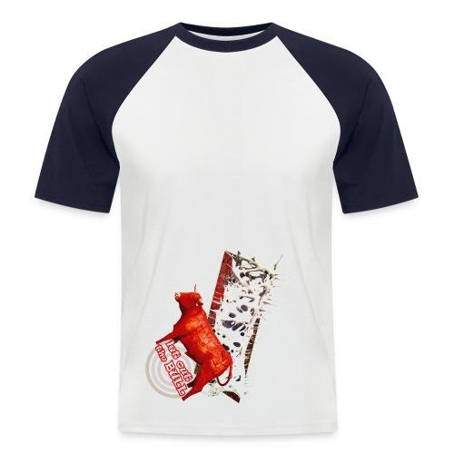 Let out the bull, t-shirt - Kortærmet herre-baseballshirt