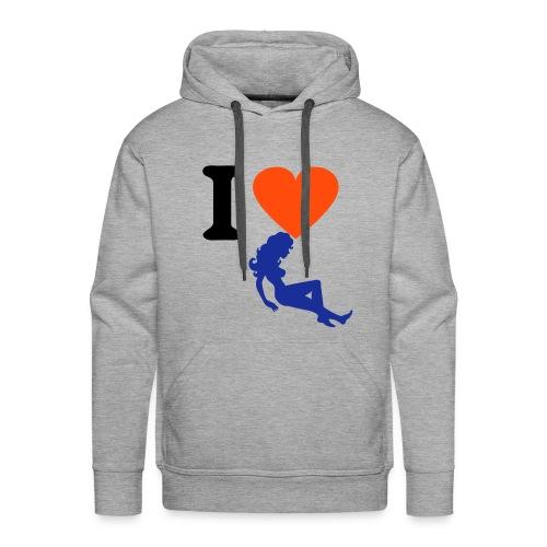 The begin - Mannen Premium hoodie