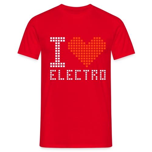 Elektro Bitch - Mannen T-shirt