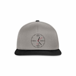 Techno Time - Cap - Snapback Cap