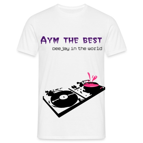 Mannen shirt - Best dj  - Mannen T-shirt