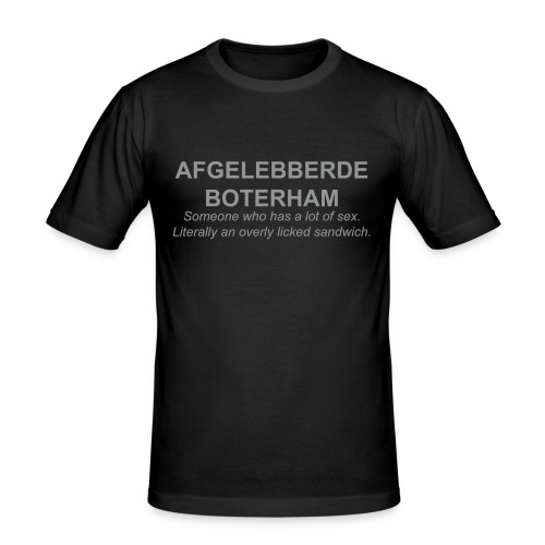 afgelebberd - slim fit T-shirt