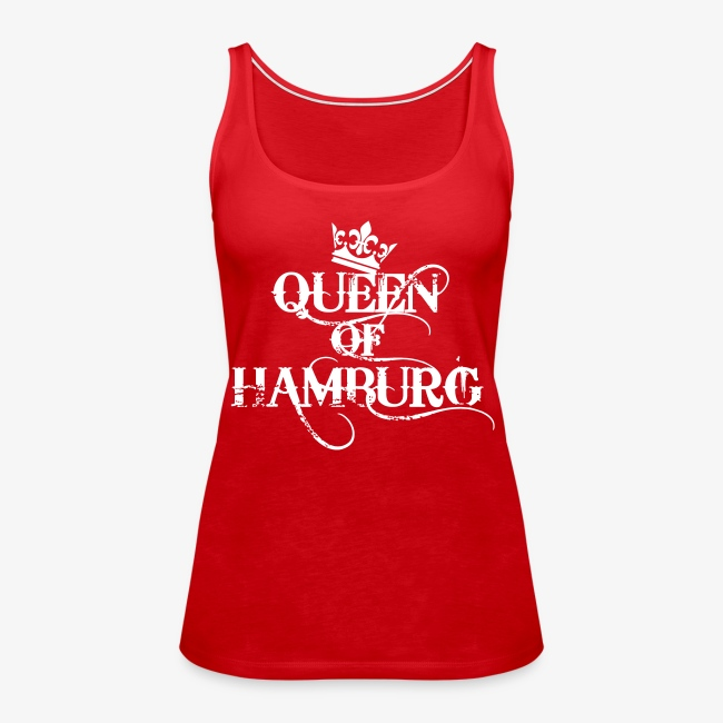 Queen of Hamburg Krone Kiez Königin Tank Top