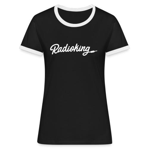 TSHIRTKING WOMAN - T-shirt contrasté Femme