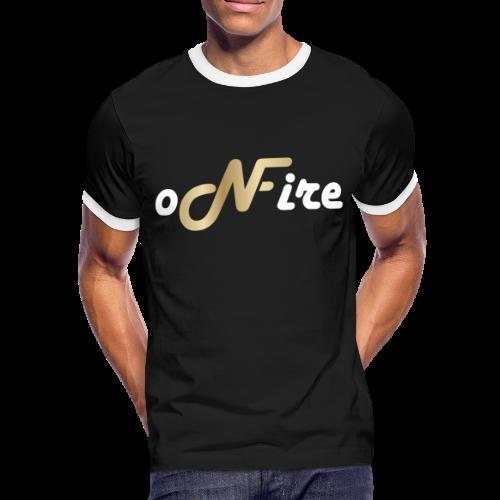 oNFire Shirt - Männer Kontrast-T-Shirt