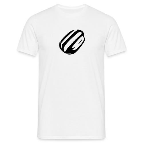 Black humbug men's T shirt - Men's T-Shirt