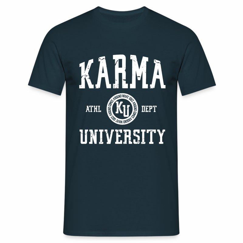Karma university t shirt witzige t shirts lustige t for Witzige t shirt sprüche