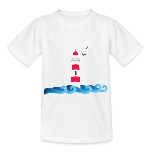 Leuchtturm Kids - Teenager (13-19 Jahre) - Teenager T-Shirt