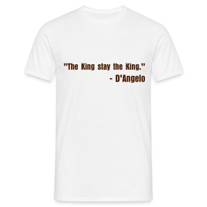 The King stay the king - Men's T-Shirt