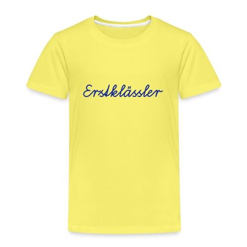 Erstklässler Schulanfänger ABC-Schütze 1. Klasse - Kids' Premium T-Shirt