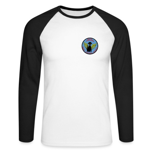 SCRCS Long Sleeve Raglan T Shirt - Men's Long Sleeve Baseball T-Shirt