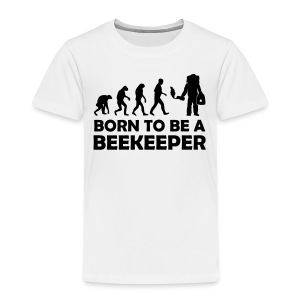 Born to be a beekeeper - Teenager Premium T-Shirt Vorderseite - Kinder Premium T-Shirt
