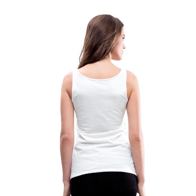 Hipster Bizepseinhorn T-Shirts - Frauen Premium Tank Top