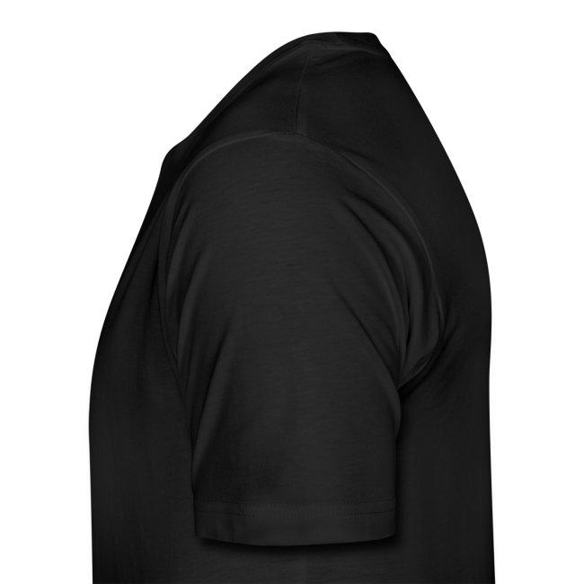 Bizepseinhorn Gitter-Design: Männer Premium T-Shirt