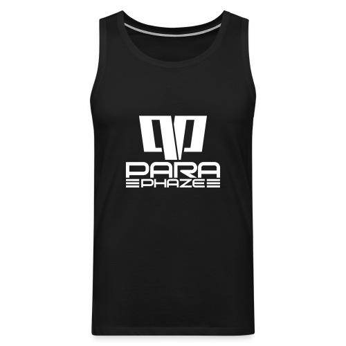 ParaPhaze - Tanktop [B/W] - Mannen Premium tank top