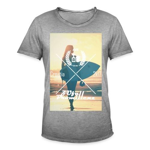 AWG X ZUfall Promillenz Shirt Surfer - Männer Vintage T-Shirt