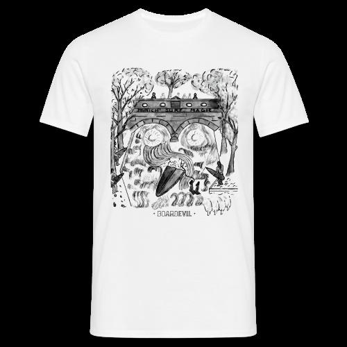 BOARDEVIL Munich Surf Magic - Männer T-Shirt