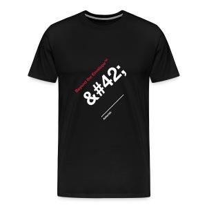 Asterisk - Men's Premium T-Shirt