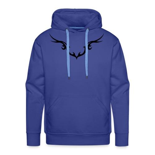 Tribal 3 - Bleu - Sweat-shirt à capuche Premium pour hommes