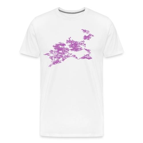 Random walk #02 - Maglietta Premium da uomo