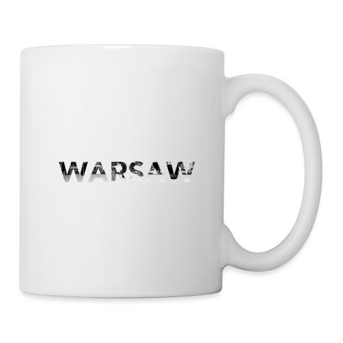 Warsaw skyline white MUG - Mug