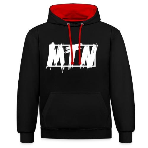 MTN Hoodie - Kontrast-Hoodie