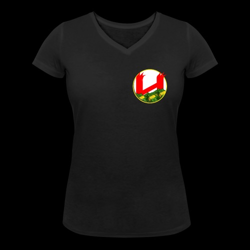 HNH Fully Loaded Black Tshirt Womens - Women's Organic V-Neck T-Shirt by Stanley & Stella