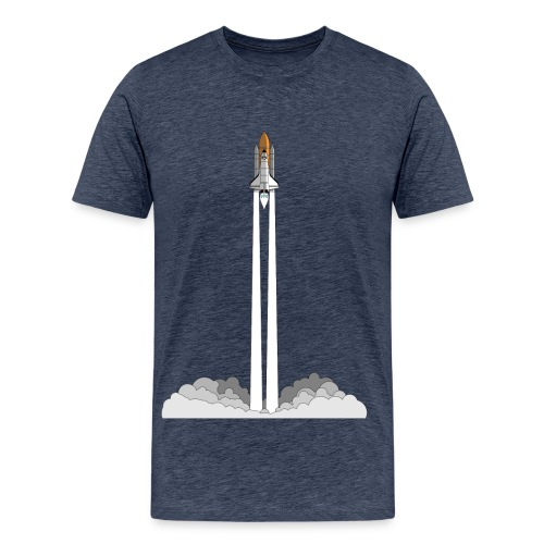 Space Shuttle Launch - Männer Premium T-Shirt
