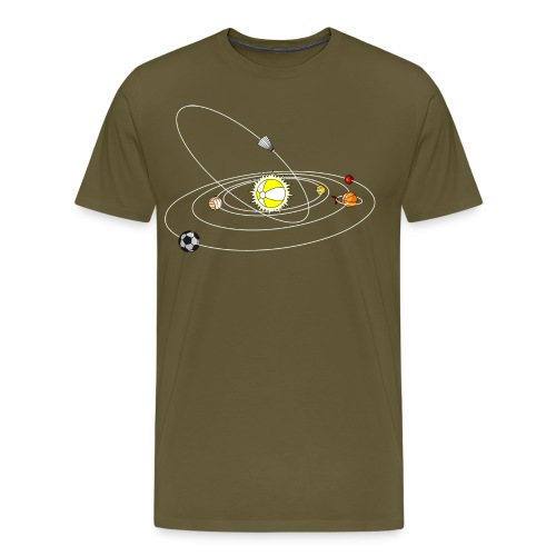 Solar System: Sports - Männer Premium T-Shirt