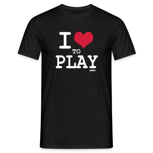 I love To Play - Camiseta hombre