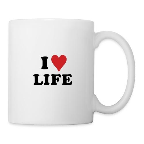 j'aime la vie - Mug blanc