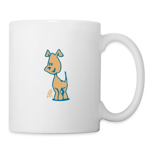 chien1 - Mug blanc