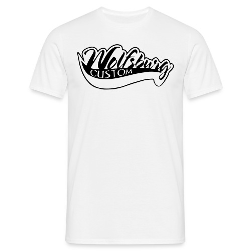 Wolfsburg-Custom Classik T-Shirt weiß - Männer T-Shirt