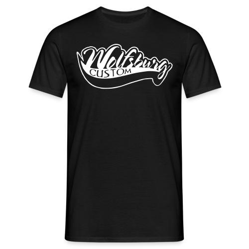 Wolfsburg-Custom Classik T-Shirt schwarz - Männer T-Shirt