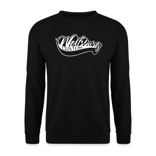 Wolfsburg-Custom Sweatshirt schwarz - Männer Pullover